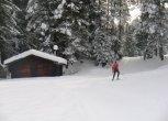 20 km piste da sci a fondo in perfette condizioni